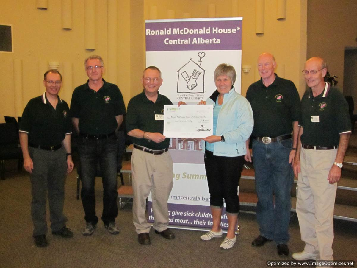 Donation to RMH